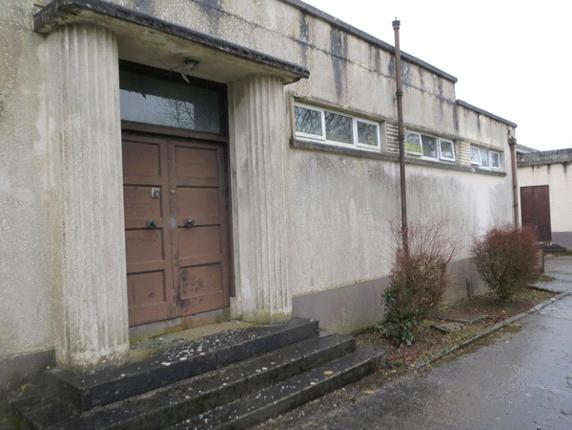 Figure 2. Seemingly banal building in rural Ireland.